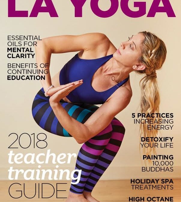 ROOT in LA YOGA Magazine